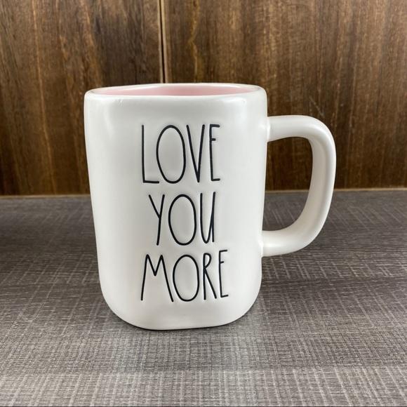 Rae Dunn Love You More mug. New.